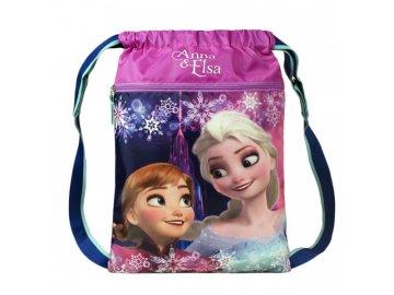Sportovní lehký batoh Ledové Království Anna a Elsa