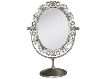 Kosmetické zrcadlo s dekorem-27*20*11 cm