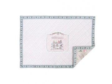 Textilní prostírání - 33 * 48 cm 4 ks