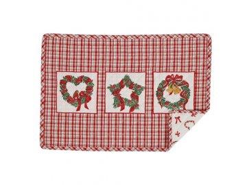 Textilní prostírání Christmas Wreath - 33 * 48 cm