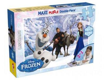 Puzzle Ledové Království Olaf 35 dílků