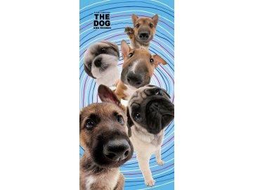 Osuška The Dog Psí přátelé 70/140