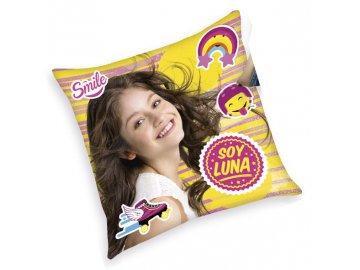 Polštářek Soy Luna Smile 40/40