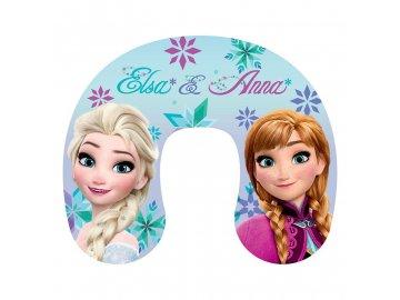 Cestovní polštářek Ledové království Anna a Elsa