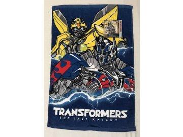 DETEXPOL Dětský ručník Transformers  Bavlna - Froté, 60/40 cm