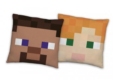 Polštářek Minecraft 40x40 cm