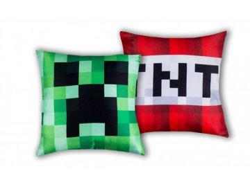 Polštářek Minecraft TNT 40x40 cm