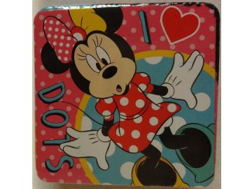 Magický ručníček Minnie dots, 30x30 cm