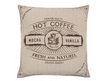 Povlak na polštář But First Coffee - 40x40 cm