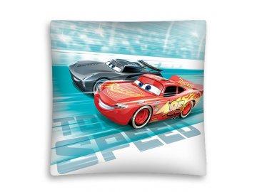 Povlak na polštářek Cars speed micro 40x40 cm