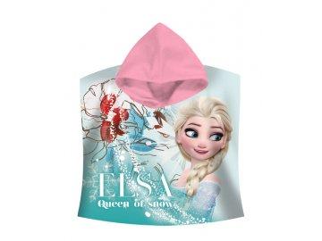 Pončo Ledové Království Elsa 60/120 cm