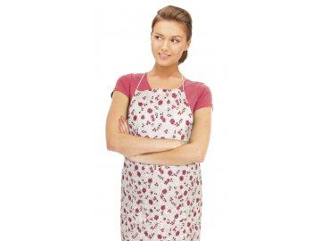 Kuchyňská zástěra RITA - růžičky