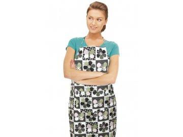 Kuchyňská zástěra DANA - patchwork