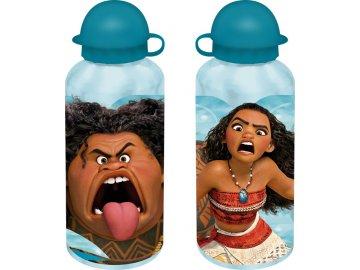 Alu láhev Odvážná Vaiana modrá