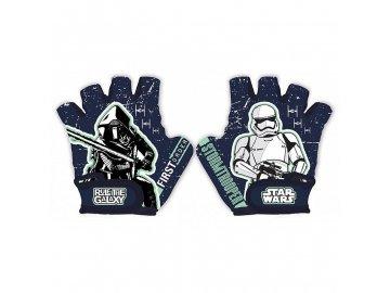 SEVEN Rukavice na kolo Star Wars Stormtrooper 70% polyester, 30% elastan, UNI 5 odpovídá 3 - 9 let