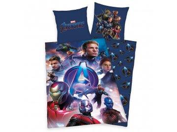 HERDING Povlečení Avengers  Bavlna, 140/200, 70/90 cm