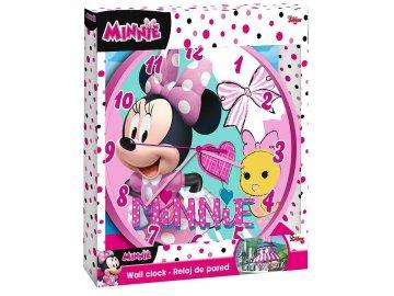 EUROSWAN Hodiny Minnie hearts Plast, 24 cm