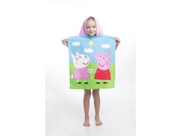 Pončo Peppa Pig 50x115