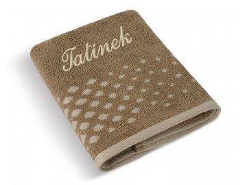 Froté ručník s výšivkou TATÍNEK
