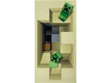 Osuška Minecraft 70x140 cm