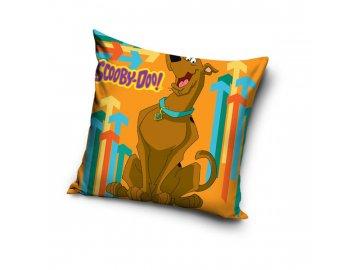 Povlak na polštářek Scooby Doo oranžová 40x40 cm
