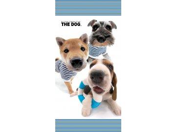 Osuška The Dog Námořníci 70x140 cm