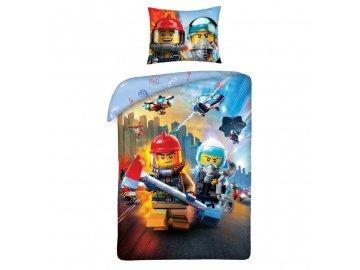 Povlečení LEGO City Zásah 140/200, 70/90