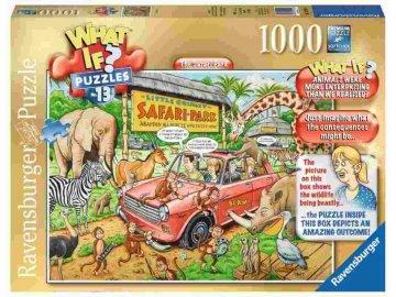 Puzzle What If 13 Safari 1000 dílků