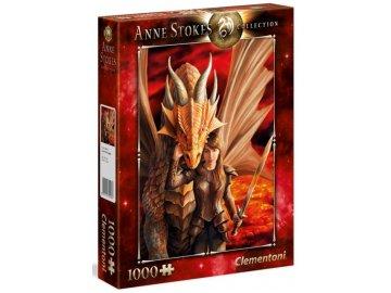 Puzzle Anne Stokes Vnitřní síla 1000 dílků