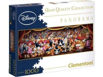 Panoramatické puzzle Disney orchestr 1000 dílků