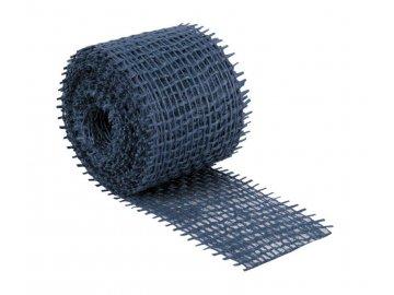Jutový dekorační pásek - tmavě modrá