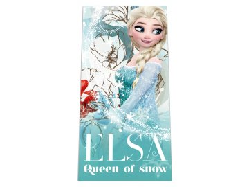 Osuška Ledové Království Elsa 70x140 cm