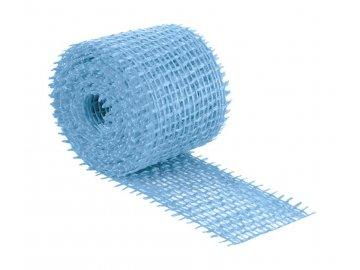 Jutový dekorační pásek - světle modrá
