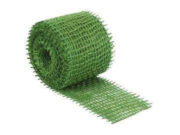 Jutový dekorační pásek - světle zelená