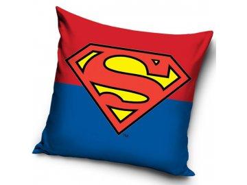 Povlak na polštářek Superman znak 40x40 cm