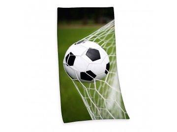 Osuška Fotbalový míč 75x150 cm