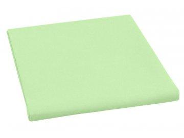 Plátěné prostěradlo plachta 150x230 cm - zelená