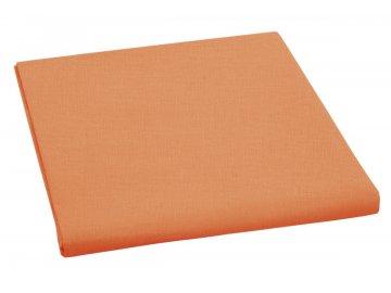Plátěné prostěradlo plachta 150x230 cm - oranžová