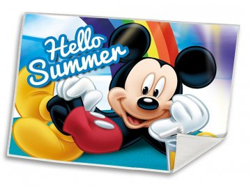 Dětský ručník Mickey Summer  Polyester, 30x40 cm