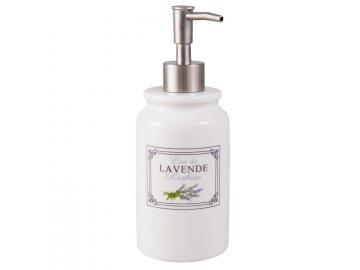 Dávkovač mýdla LAVANDE - Ø 8x20 cm