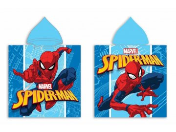 Pončo Spiderman micro, 50x100 cm