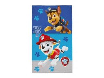 Dětský ručník Paw Patrol Chase a Marshall, 50x30 cm
