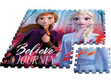EUROSWAN Podlahové pěnové puzzle Ledové Království 2 Eva,9 dílů cm