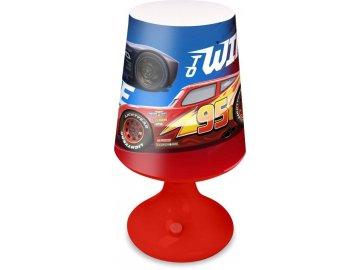 EUROSWAN Noční stolní LED lampička Cars Plast, 18x9 cm