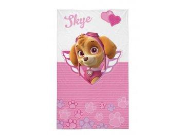 Dětský ručník Paw Patrol Skye  Bavlna - Froté, 50x30 cm