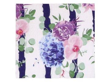 Povláček krepový - květy růží