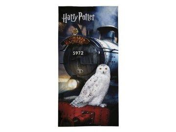 DETEXPOL Osuška Harry Potter expres  Bavlna - Froté, 70/140 cm