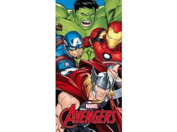 Osuška Micro Avengers  Polyester, 70x140 cm