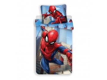 Povlečení Spiderman blue micro 140x200, 70x90 cm