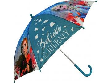 EUROSWAN Vystřelovací deštník Ledové Království 2 Anna a Elsa Polyester